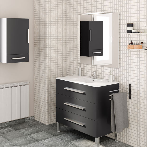Muebles de lavabo leroy merlin for Muebles de bano italianos