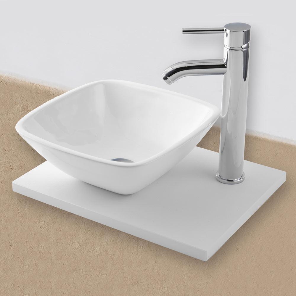 Conjunto de mueble de lavabo mini stone ref 17610173 - Mueble lavabo pequeno ...