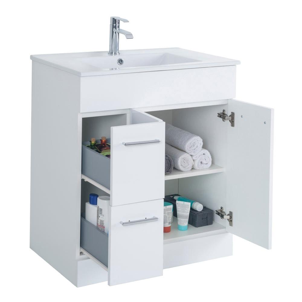 Mueble de lavabo motril ref 18054694 leroy merlin for Mueble lavadora leroy merlin