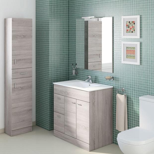 Muebles de lavabo leroy merlin for Mueble lavabo desague suelo