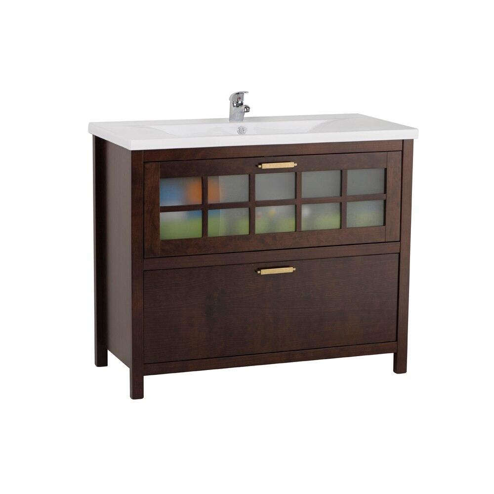 Mueble de lavabo nizza ref 17308753 leroy merlin - Mueble bajo lavabo leroy merlin ...