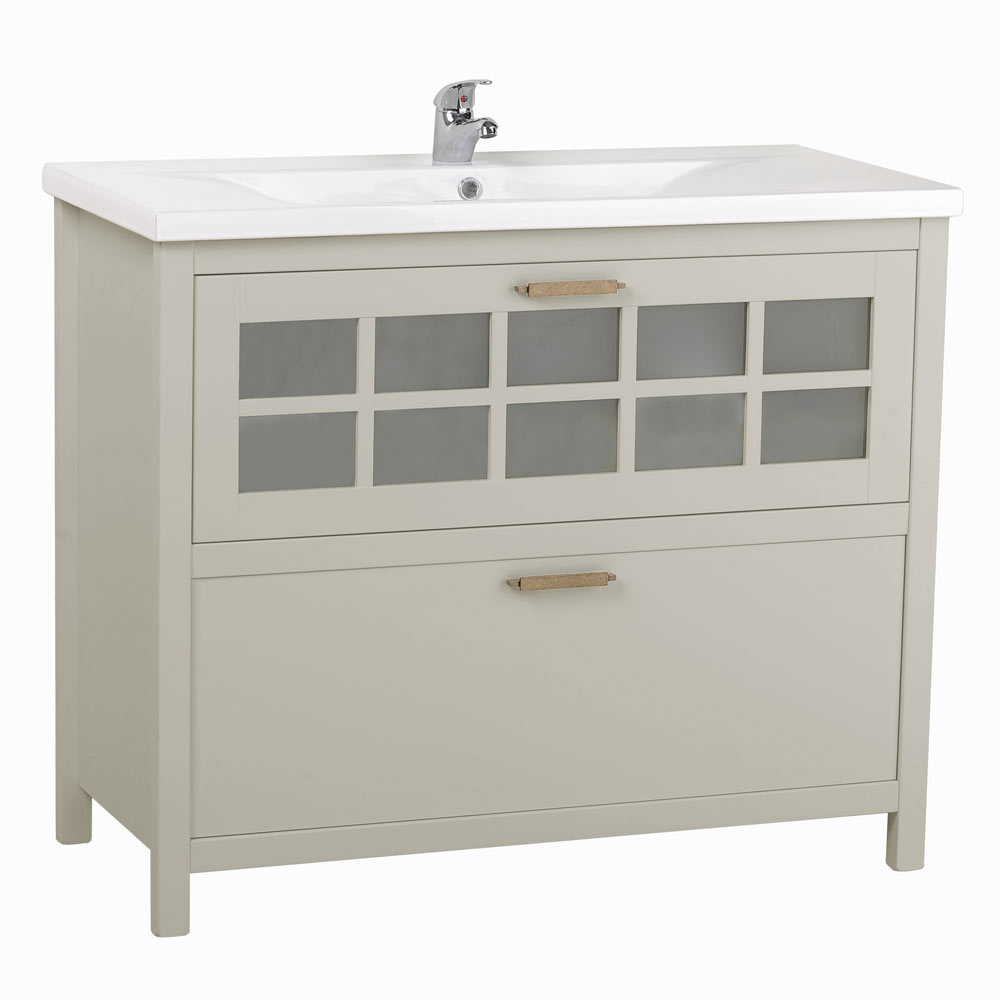 Mueble de lavabo nizza ref 17882256 leroy merlin for Mueble plancha leroy merlin