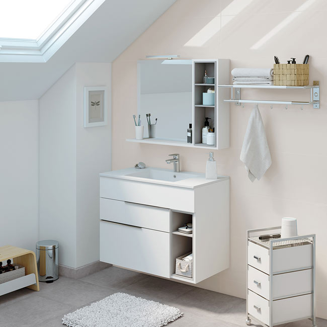 Mueble de lavabo nook ref 17957814 leroy merlin for Lavabos leroy merlin