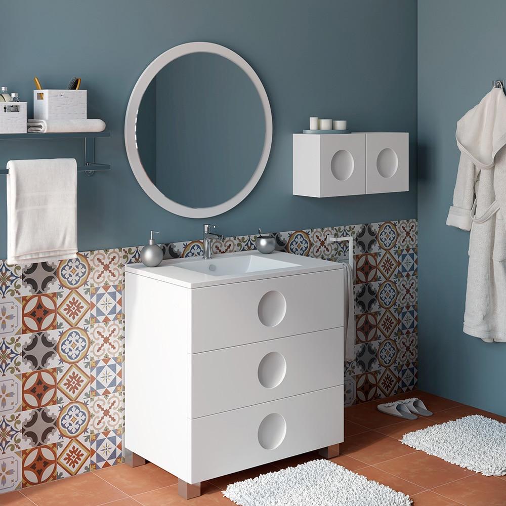 Mueble de lavabo sphere ref 16701391 leroy merlin for Mueble lavadora leroy merlin