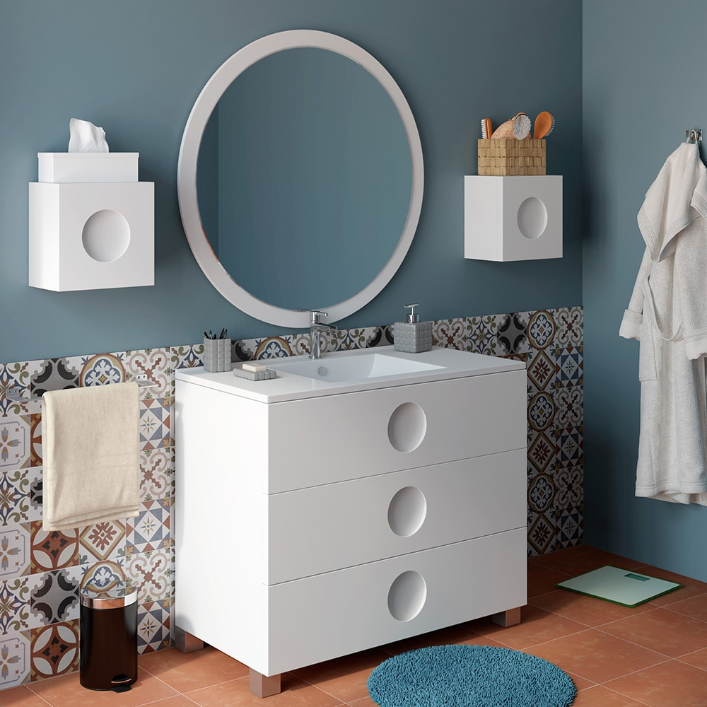 Mueble de lavabo sphere ref 16701482 leroy merlin for Lavabos leroy merlin