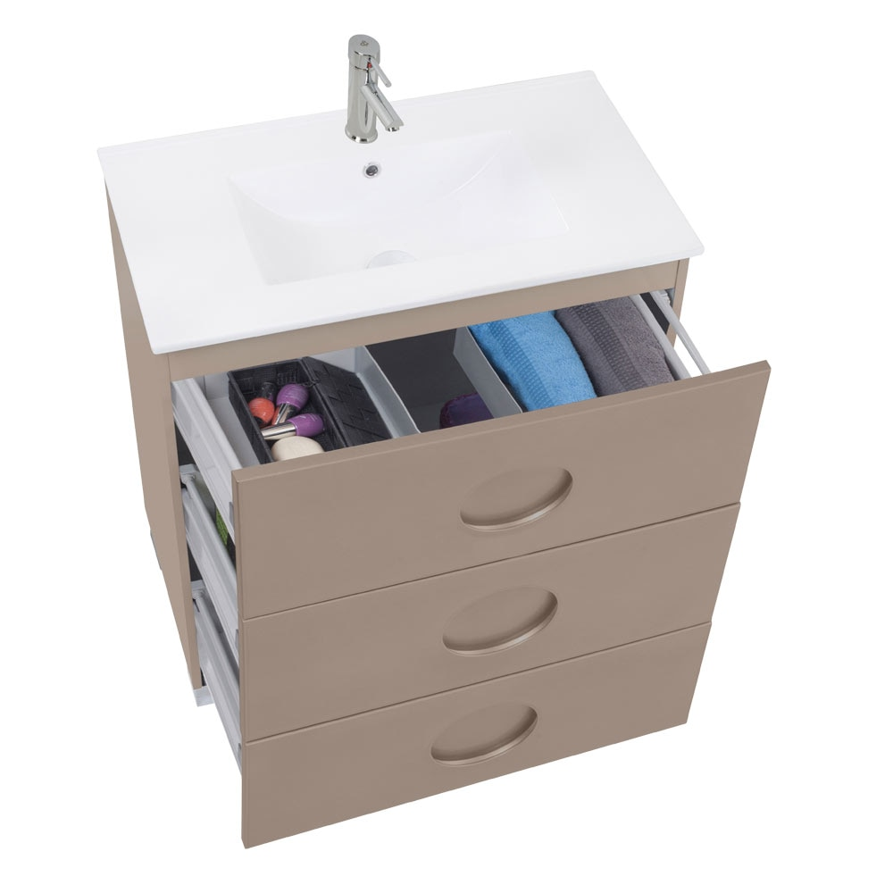 Mueble de lavabo sphere ref 17594262 leroy merlin - Mueble bajo lavabo leroy merlin ...
