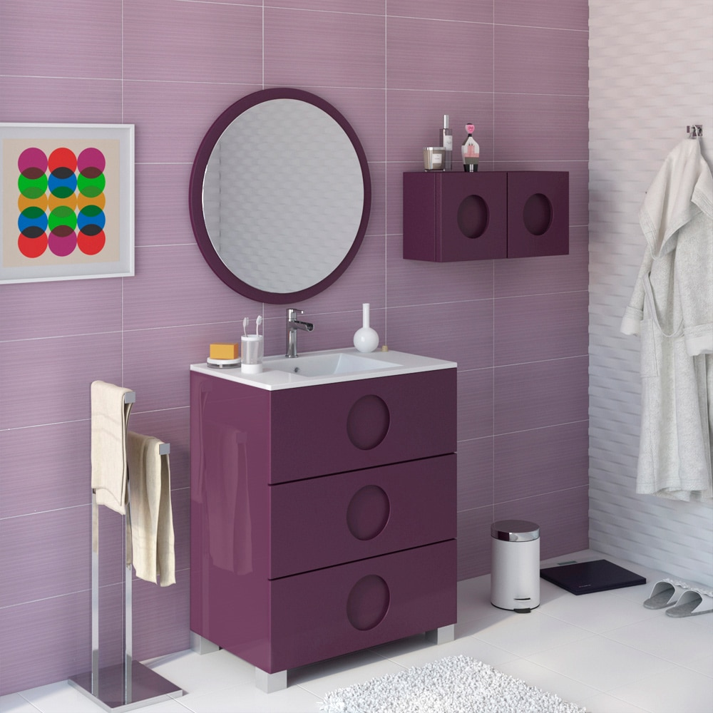 Mueble de lavabo sphere ref 17594584 leroy merlin - Mueble bajo lavabo leroy merlin ...