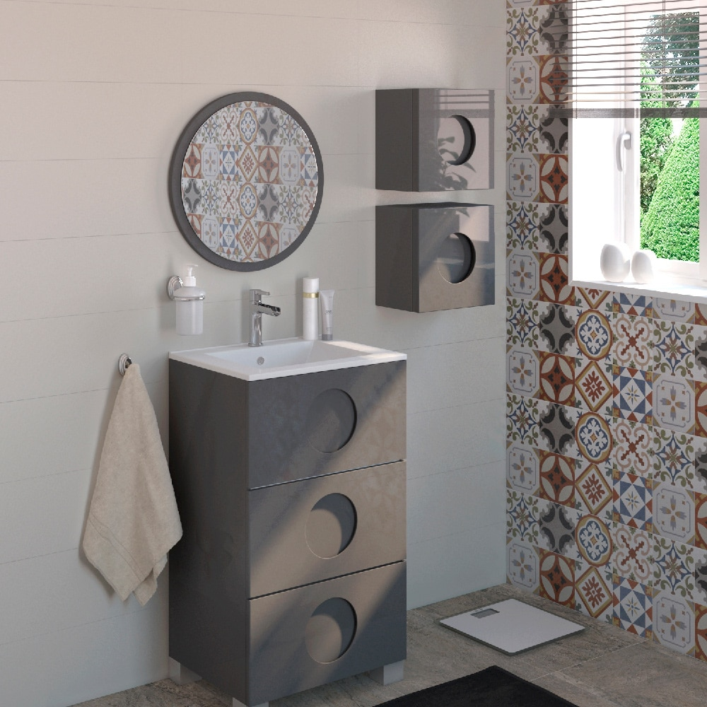 mueble de lavabo sphere ref 17594731 leroy merlin. Black Bedroom Furniture Sets. Home Design Ideas