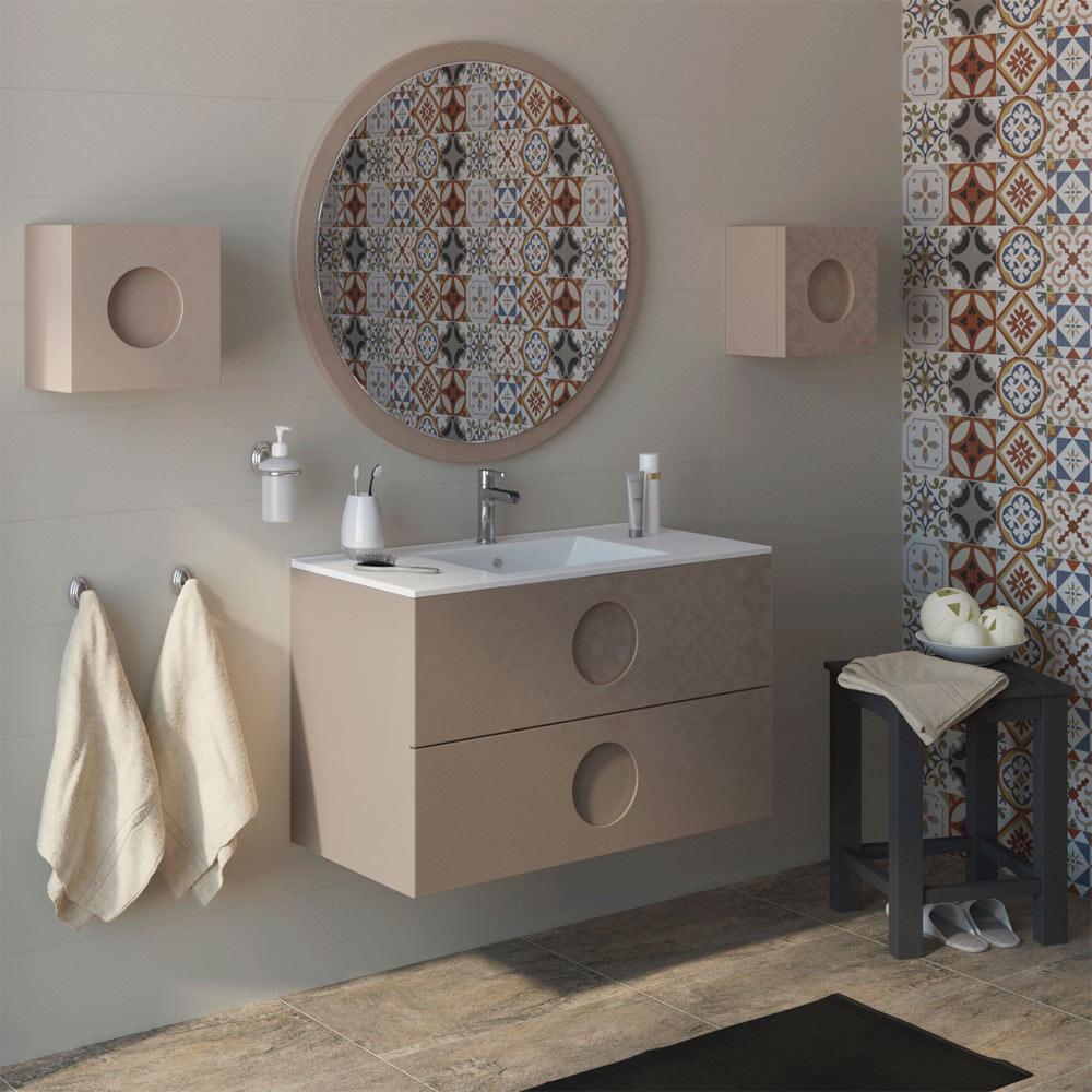 Mueble de lavabo sphere ref 17594976 leroy merlin - Mueble bajo lavabo leroy merlin ...