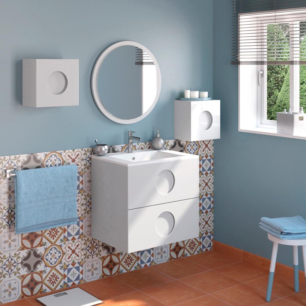 Mueble de lavabo sphere ref 17595130 leroy merlin - Mueble bajo lavabo leroy merlin ...