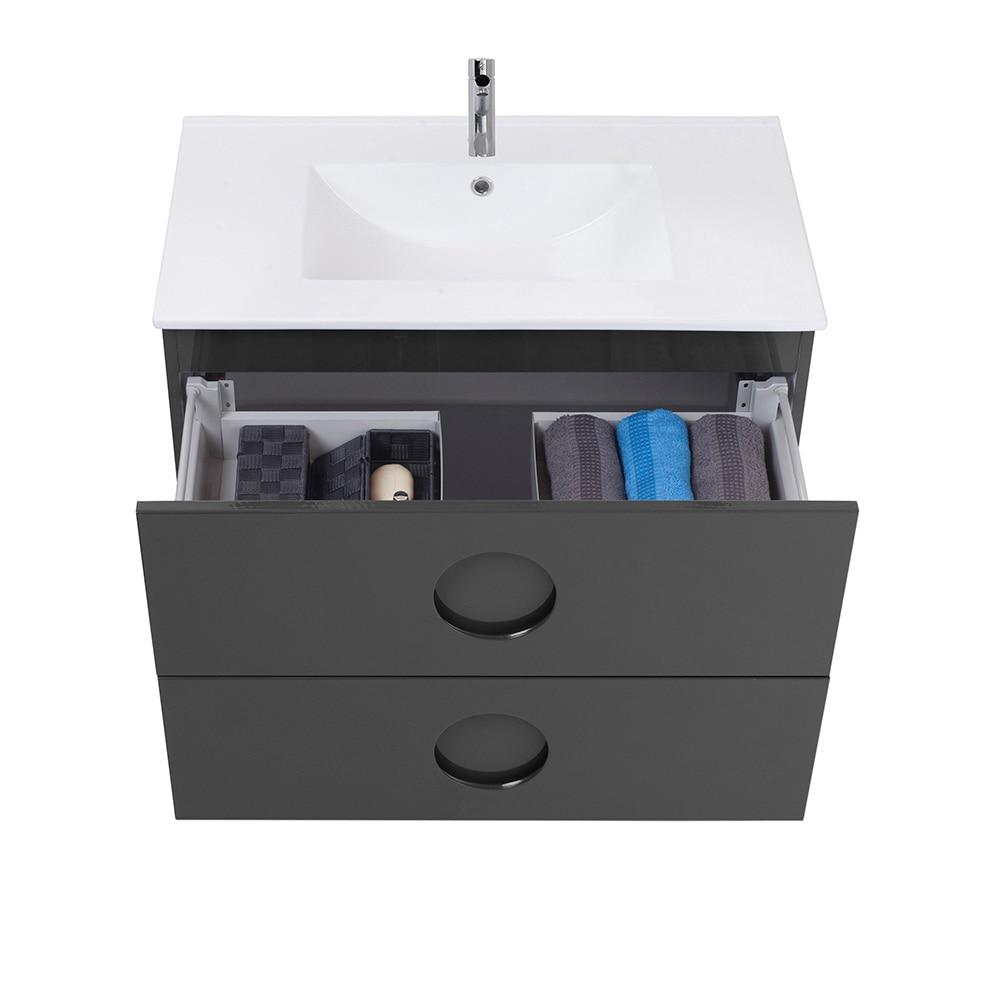 Mueble de lavabo sphere ref 17618930 leroy merlin for Lavabo bajo encimera leroy merlin
