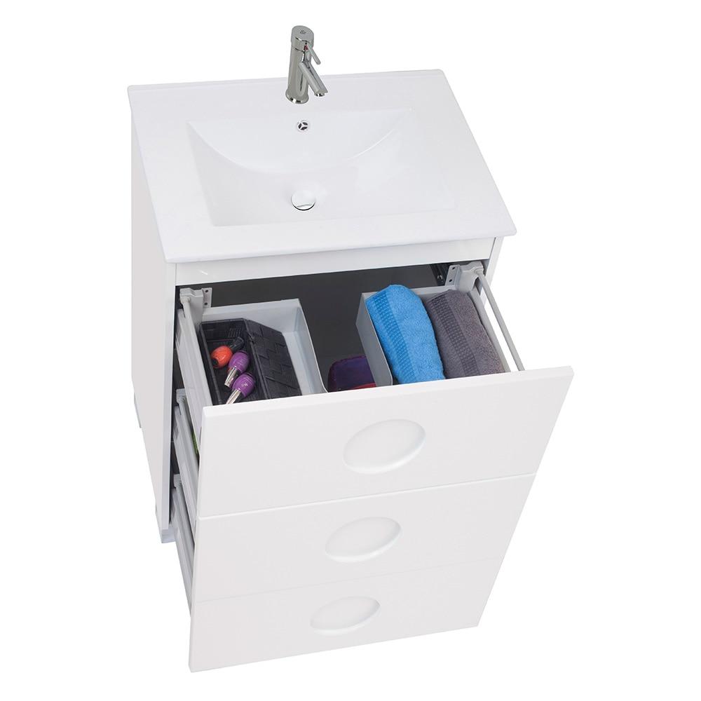 Mueble de lavabo sphere ref 17618972 leroy merlin - Mueble lavabo pie leroy merlin ...