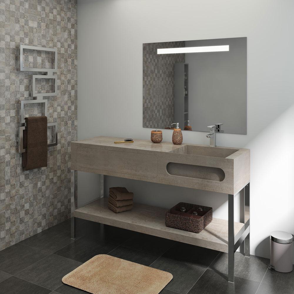 Mueble lavabo pie leroy merlin cheap ampliar imagen for Leroy merlin armario lavabo
