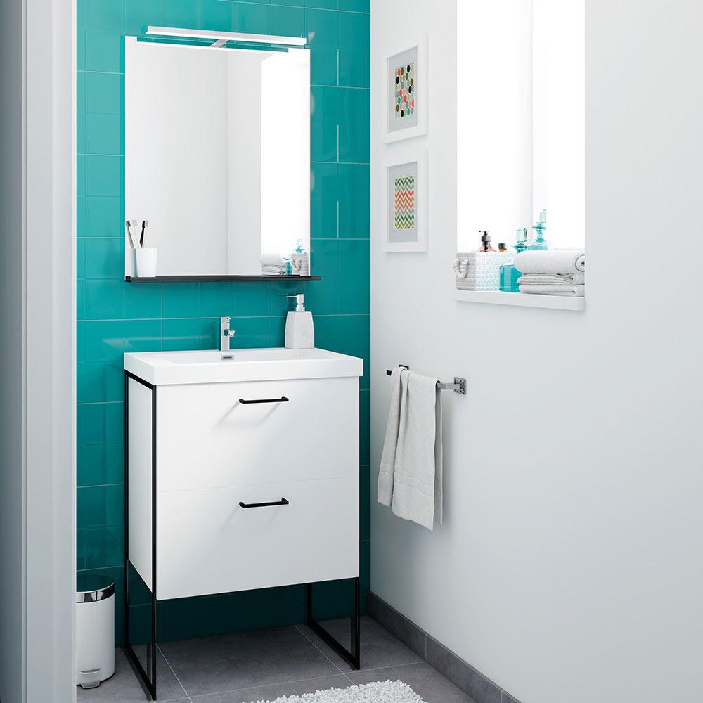 Muebles para lavabo tradicionales 20170725030228 for Mueble lavabo leroy