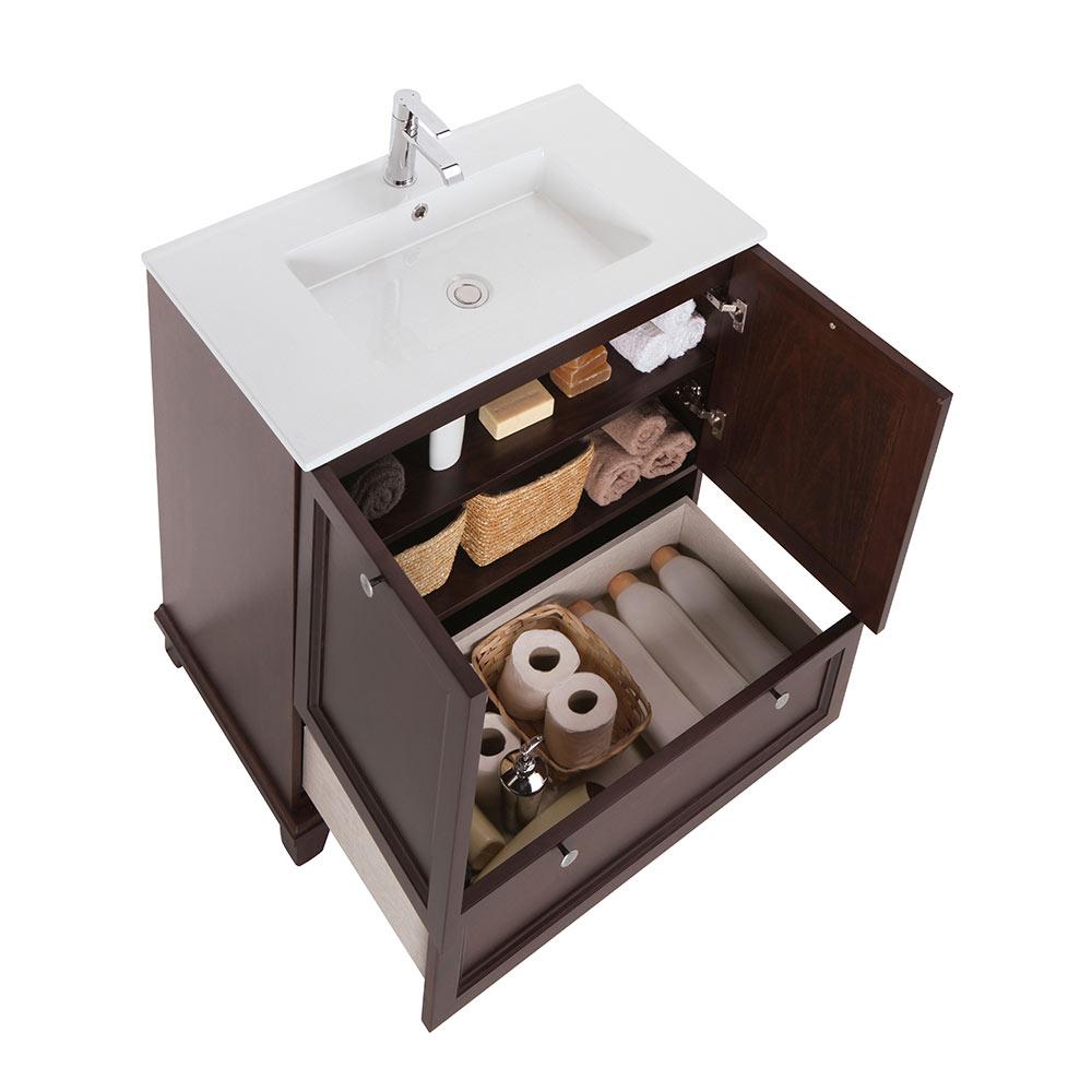 Mueble de lavabo unike ref 18568592 leroy merlin for Mueble unike leroy merlin