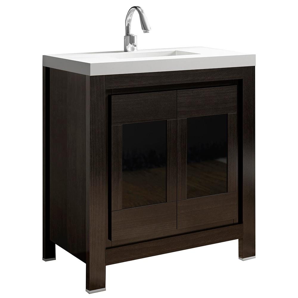 Mueble bajo lavabo leroy for Mueble lavabo pie leroy merlin