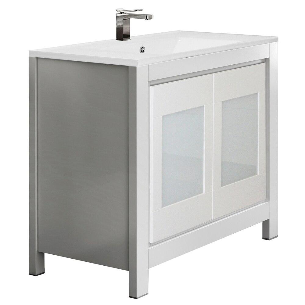 Mueble de lavabo versalles ref 16716553 leroy merlin - Mueble bajo lavabo leroy merlin ...