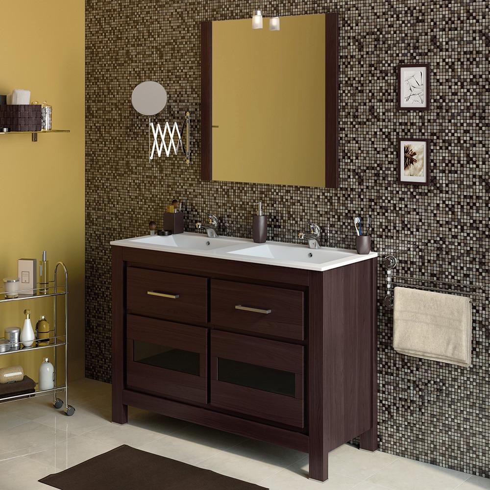 Mueble de lavabo versalles ref 16716924 leroy merlin - Lavabos de cristal leroy merlin ...