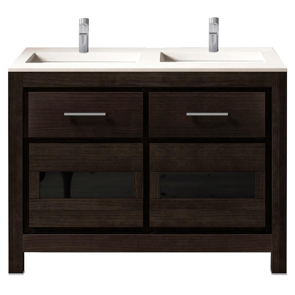 Mueble de lavabo versalles ref 16716924 leroy merlin for Mueble lavabo