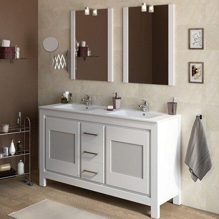 Mueble de lavabo versalles ref 16738323 leroy merlin for Leroy merlin armario lavabo