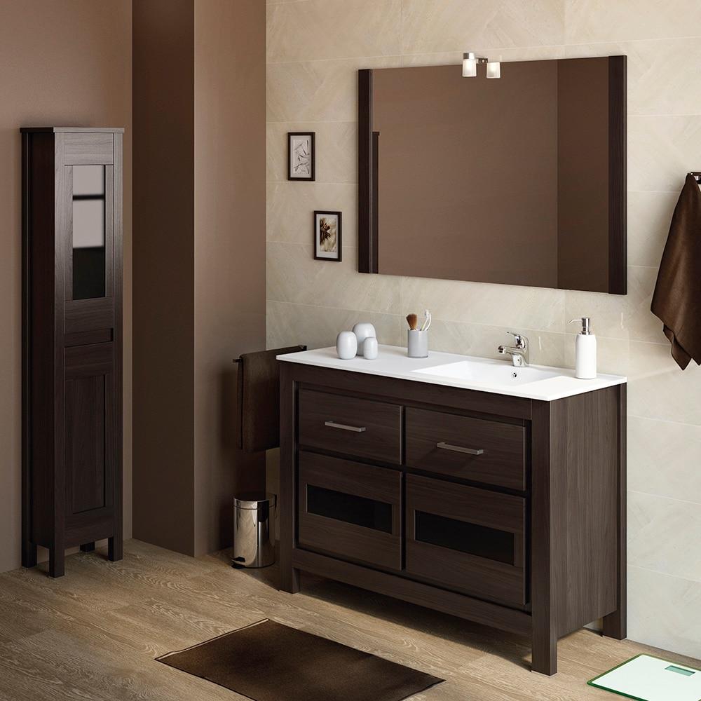 Mueble de lavabo versalles ref 16935205 leroy merlin for Lavabos leroy merlin