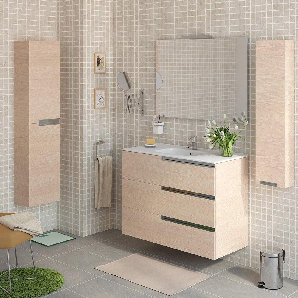 Conjunto de mueble de lavabo victoria n family ref for Muebles bano roca precios