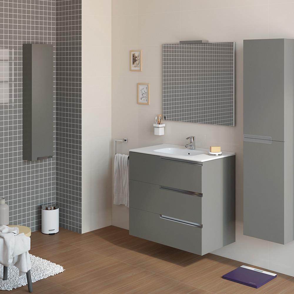 Conjunto de mueble de lavabo victoria n family ref 16708762 leroy merlin - Muebles banos roca ...