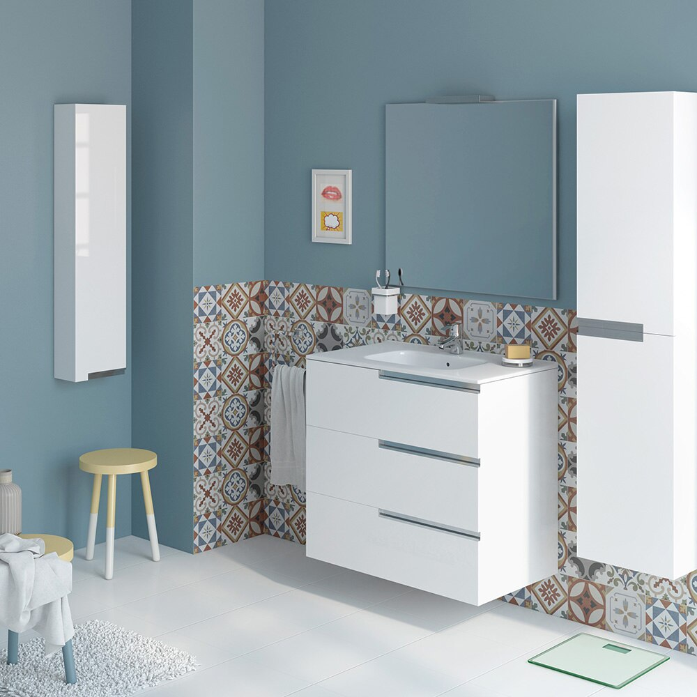 Conjunto de mueble de lavabo victoria n family ref for Muebles de bano lacados