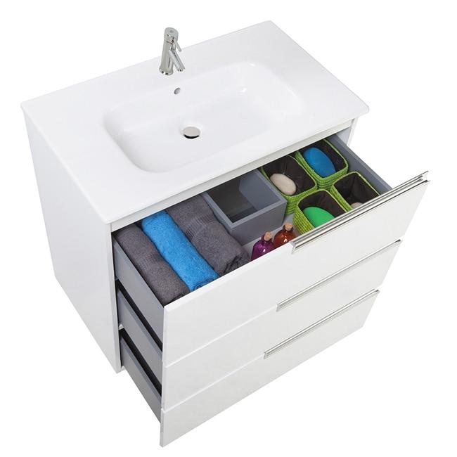 Conjunto de mueble de lavabo victoria n family ref - Griferia roca victoria leroy merlin ...
