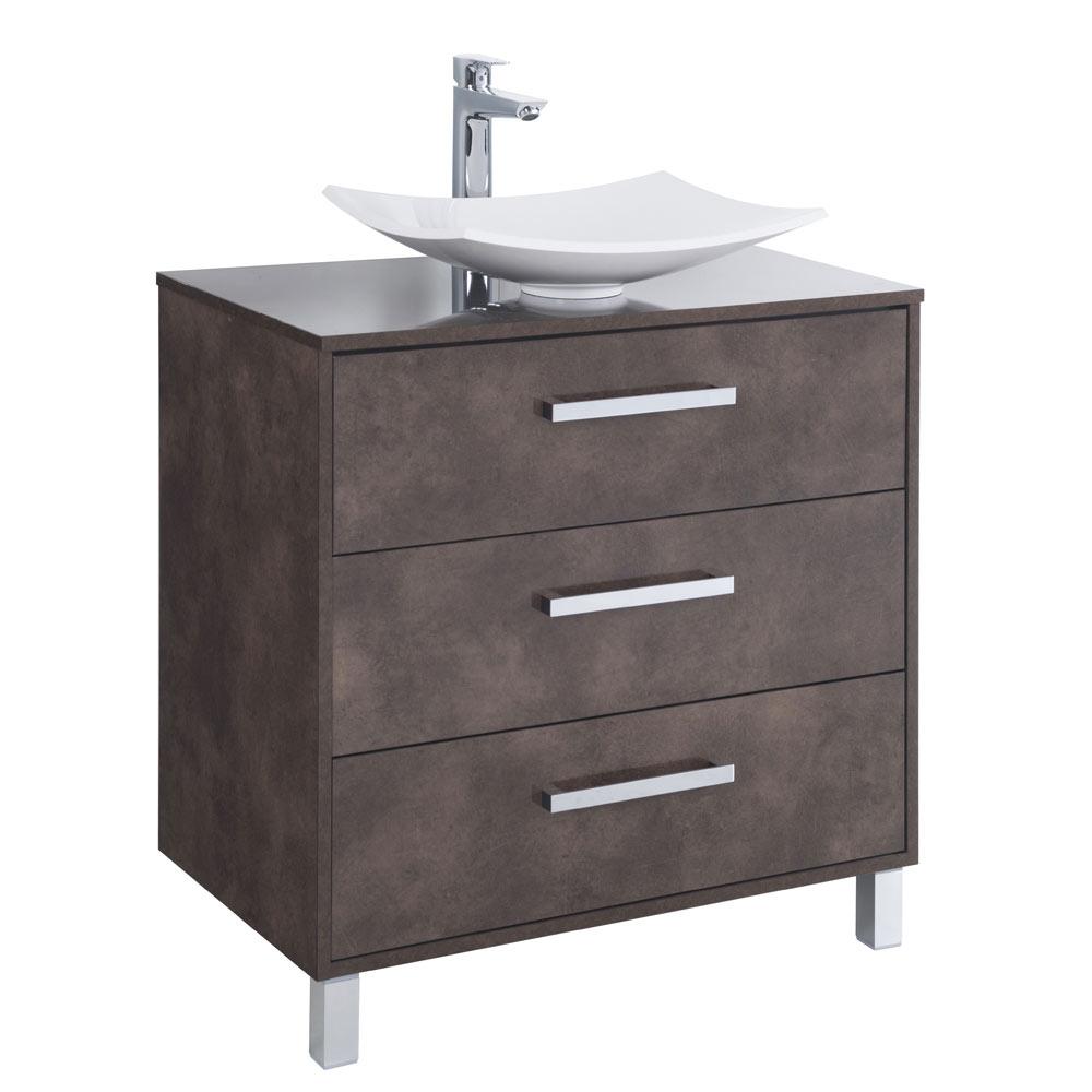 Mueble de lavabo vivaz ref 17931151 leroy merlin - Mueble lavabo pie leroy merlin ...
