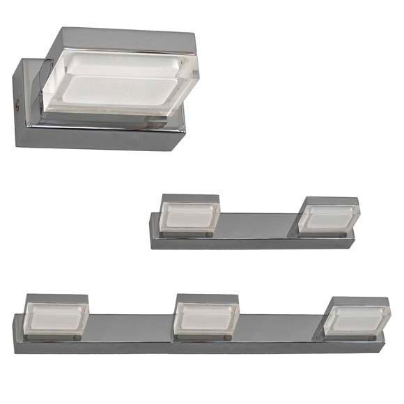 Serie ip44 cromo leroy merlin for Focos led exterior leroy merlin