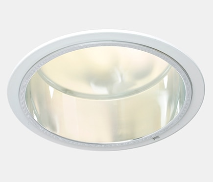 Foco downlight serie bajo consumo redondo blanco ref for Downlight leroy merlin