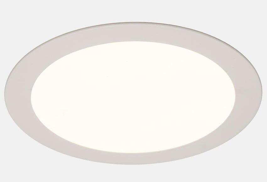 Foco downlight sulion serie fastslim redondo blanco ref for Downlight leroy merlin