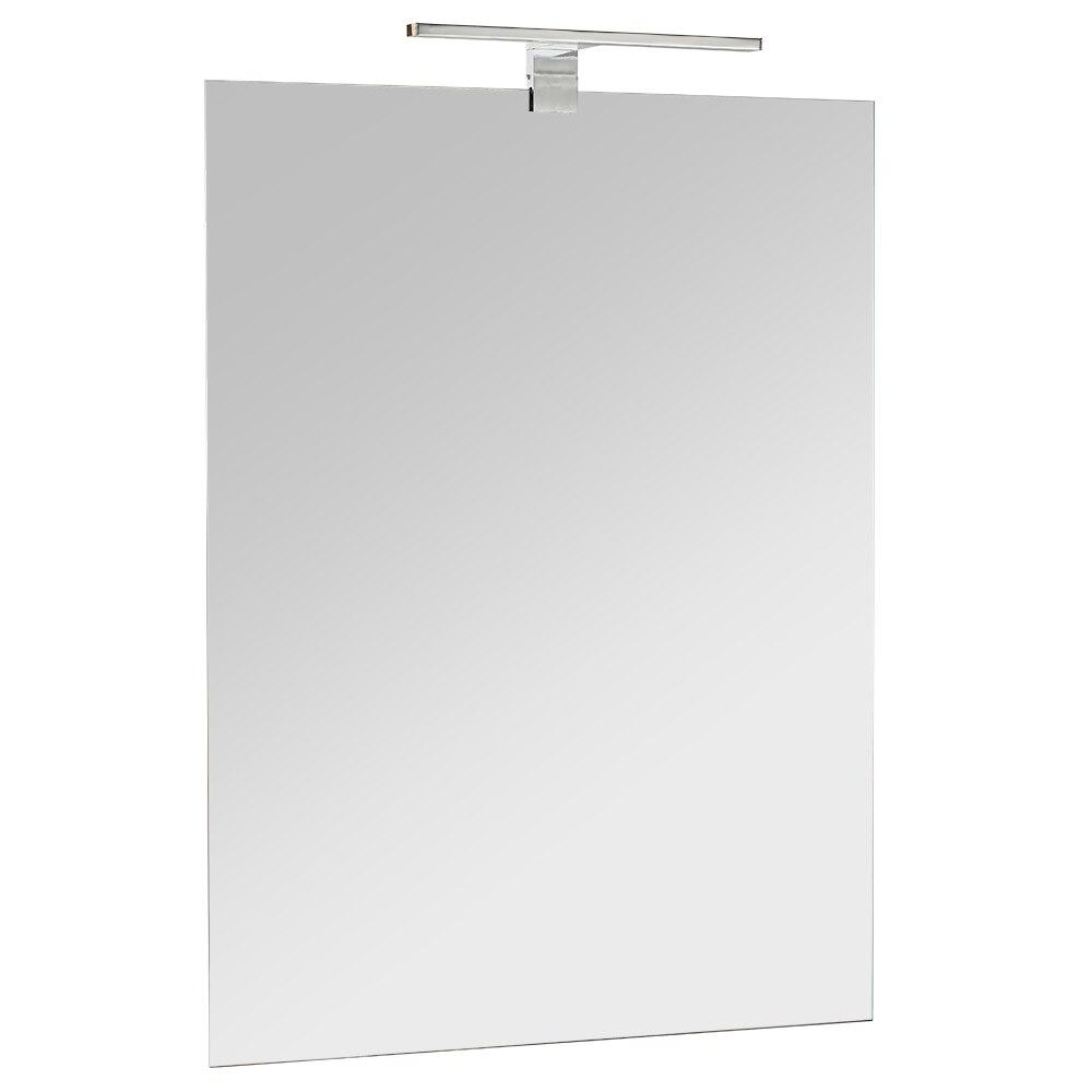 Espejo para mueble de ba o serie alba con foco ref - Focos de espejo de bano ...