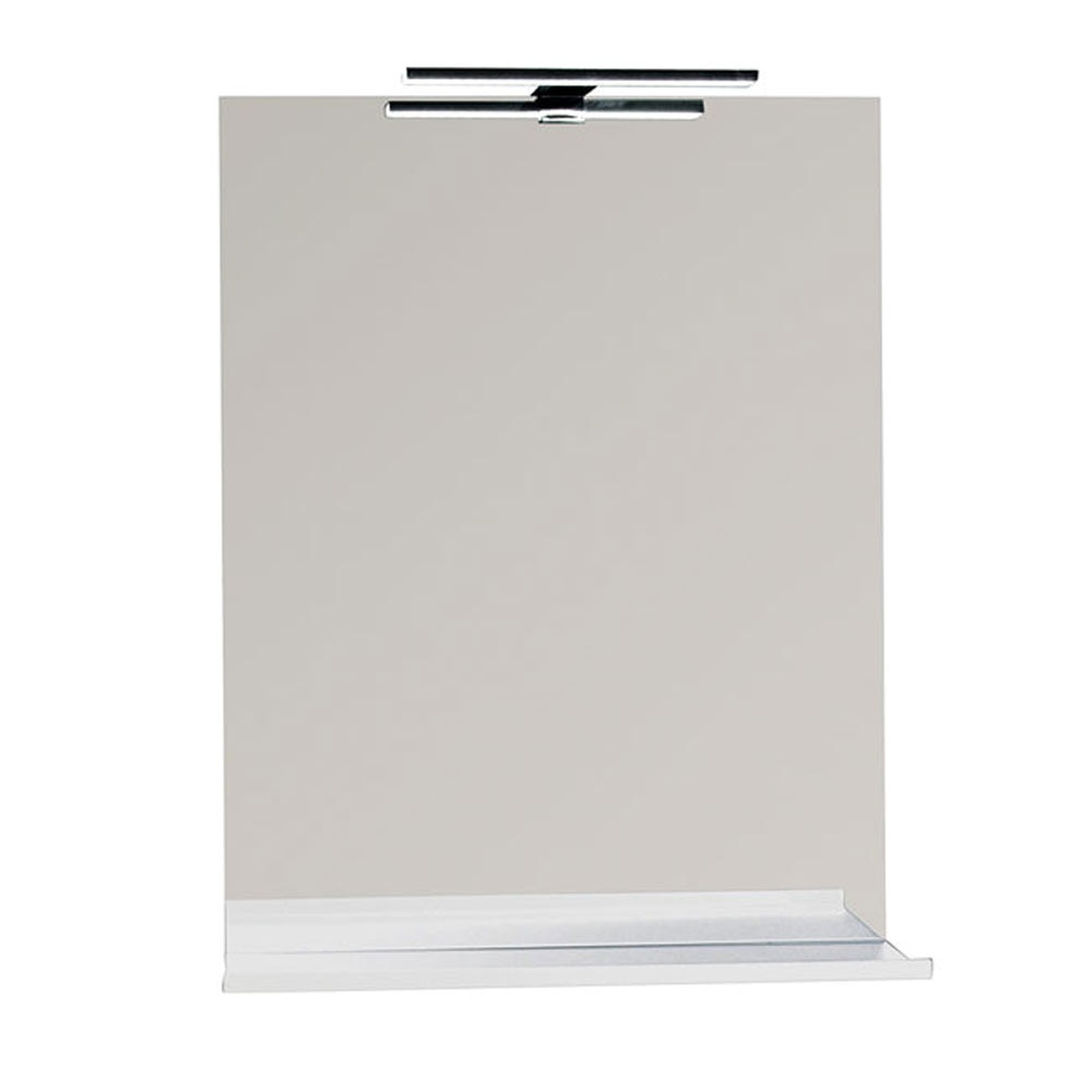 Espejo para mueble de ba o serie liso repisa ref 17920504 - Espejos de bano leroy merlin ...
