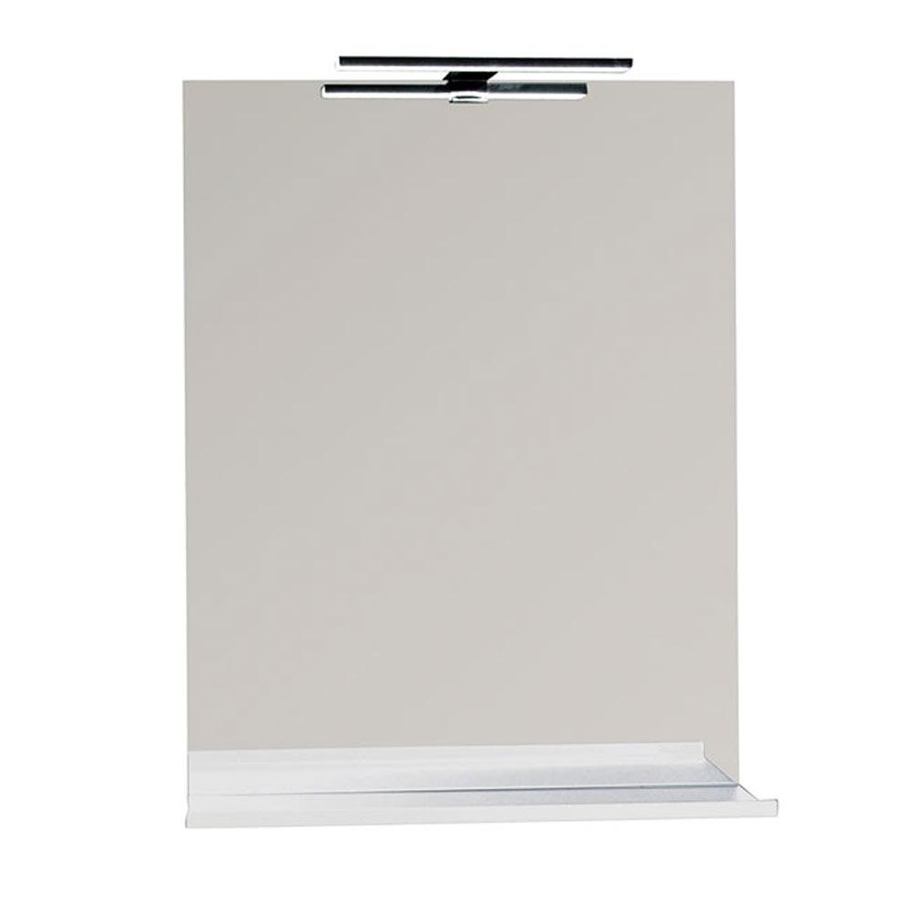 Espejo para mueble de ba o serie liso repisa ref 17920504 for Espejos para banos leroy merlin