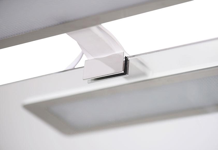Aplique de baño LED Nikita 10W Ref. 19126646 - Leroy Merlin cab310e90756