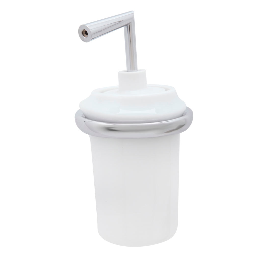 Dosificador de ba o oval dosificador ref 17944164 leroy for Dosificador para bano