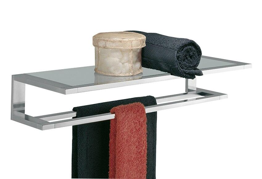 Toallero de pared hotel items cromado ref 15011171 - Toallero cromado para bano ...