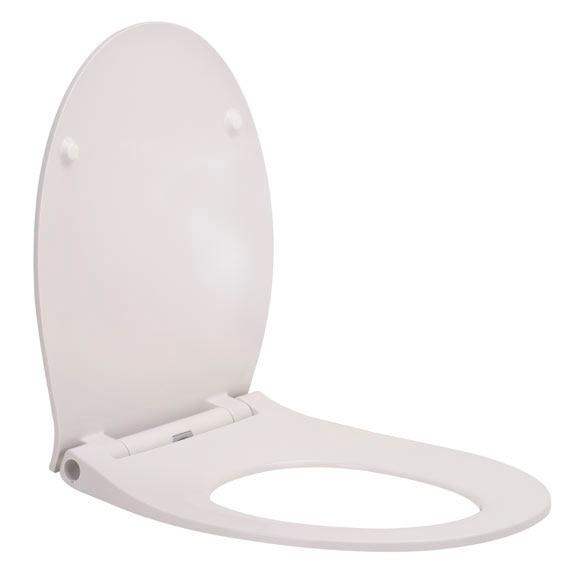 Tapa de wc flash blanca ref 17877846 leroy merlin - Tapas de wc leroy merlin ...