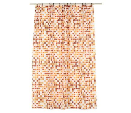 Cortina de ba o mosaico beige ref 13276354 leroy merlin - Leroy merlin cortinas bano ...