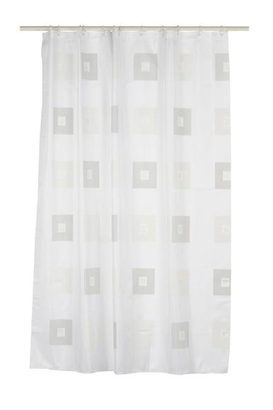 Cortina de ba o block gris ref 13277145 leroy merlin - Leroy merlin cortinas bano ...