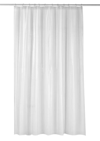 Cortina de ba o glass pvc 180x200 cristal ref 17080196 - Leroy merlin cortinas bano ...
