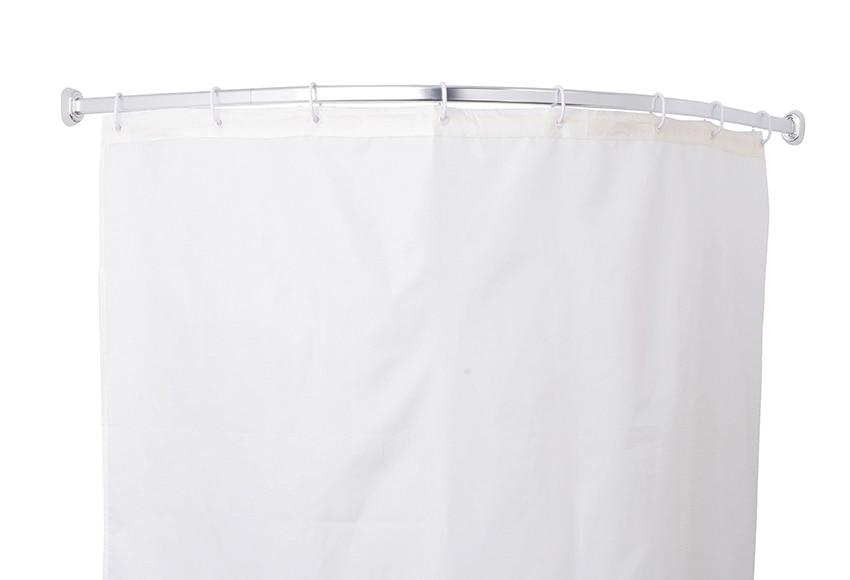 Barra para la cortina de la ducha sensea barra curva 1 4c 90x90 cr ref 17901856 leroy merlin - Cortina bano curva ...
