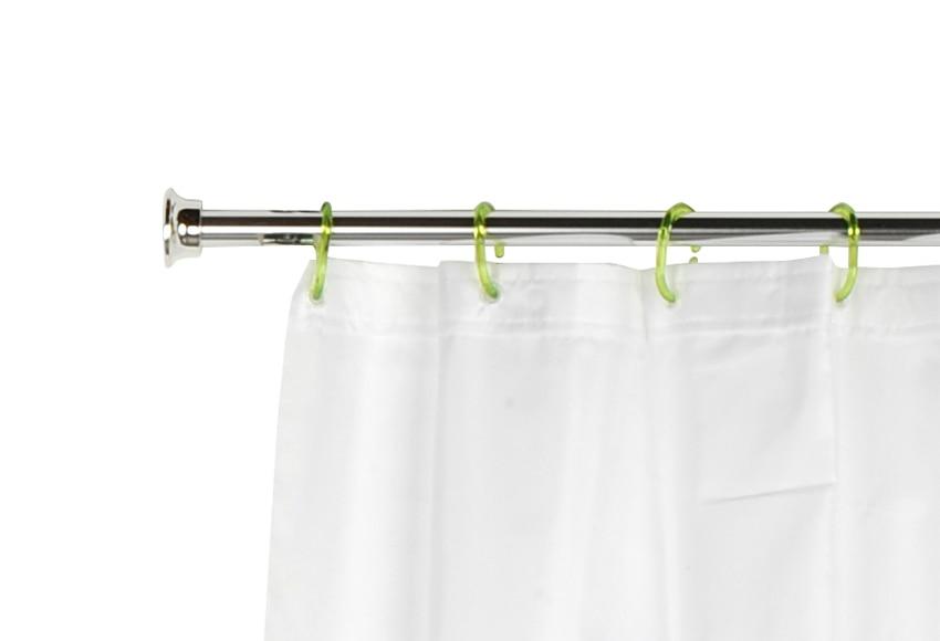barra para la cortina de la ducha sensea barra recta On cortinas ducha leroy merlin
