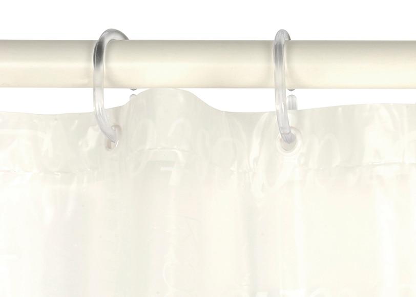 Anillas para cortina de ducha paquete 12 anillas for Anillas para cortinas