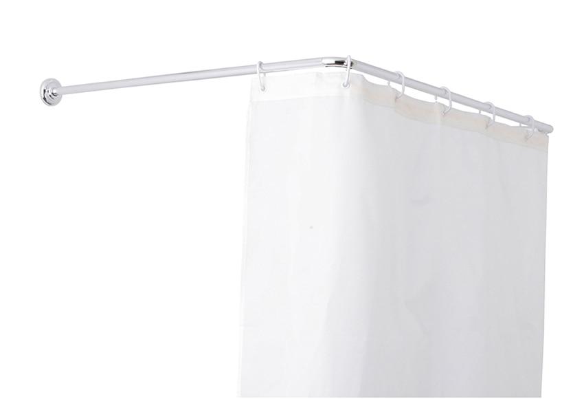 Barra para la cortina de la ducha sensea barra universal - Barra ducha leroy merlin ...