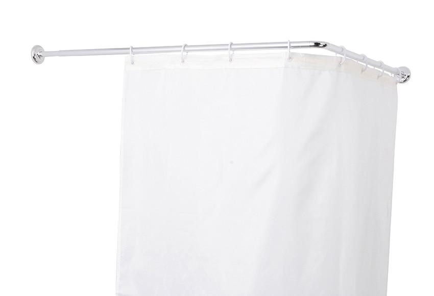 barra para la cortina de la ducha sensea extensible cromo