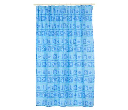 Cortina De Ba O Abysse Azul Ref 14976136 Leroy Merlin