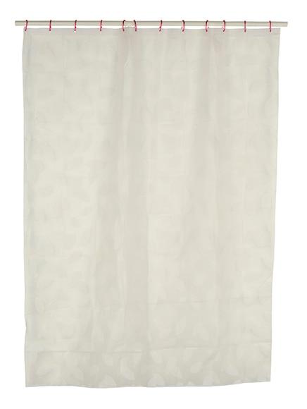 Cortinas De Baño Blancas:Cortina de baño HOJAS BLANCAS Ref 15530655 – Leroy Merlin
